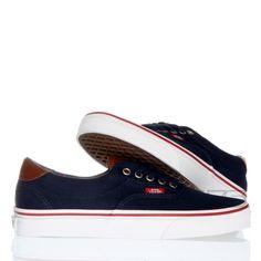 Eleganckie buciki Era 59 (C&L) Navy/Stripes w cenie 239zł w sklepie Vans Dzika Północ. #Gdynia #vansshoes #vans #skateshop #shop #dzikapolnoc