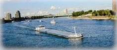 Der Kölner Rhein von Pixeldiso
