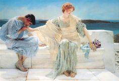 Ask me no more - Alma-Tadema Lawrence