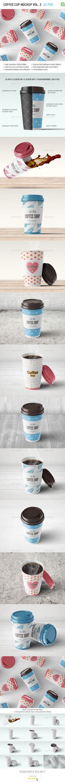 Coffee Cup Mock-up Vol.2 #cup #coffee #mockup