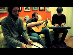 """Yellow Ostrich - """"Marathon Runner"""" (live acoustic on Big Ugly Yellow Couch)"""