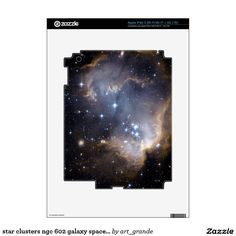 star clusters ngc 602 galaxy space universe skins for iPad 3