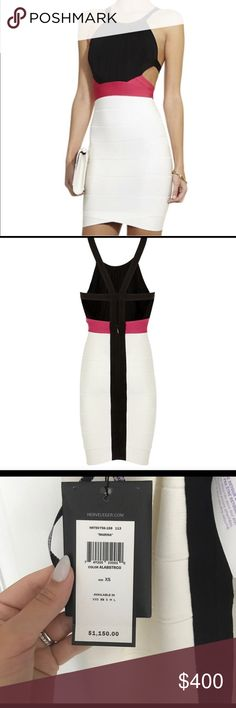 Herve Leger sexy dress Perfect for New Years. Brand new never worn! Herve Leger Dresses