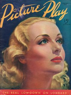 Carole Lombard Picture Play 1937
