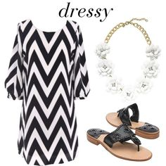 First Day of School Outfit :: Dressy by glamorouslifestyle, via Polyvore