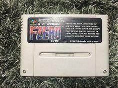 F-Zero Super Famicom Japani Nintendo F Zero FZero