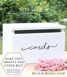 19 Wedding Gift Card Box Ideas | Pinterest | Wedding card, Box and ...