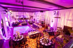 Glamorous purple rustic wedding by Nico Cervantes/ NLC Productions nicosb.com