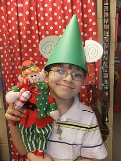 bring your elf to school day--doing this next year!!