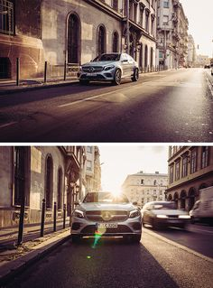 Interpretation of modern luxury: the Mercedes-Benz GLC Coupé. #ChasingStars