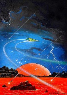 Spaceship - Alex Schomburg