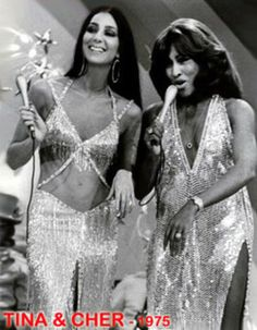 Cher and Tina Turner in 1975