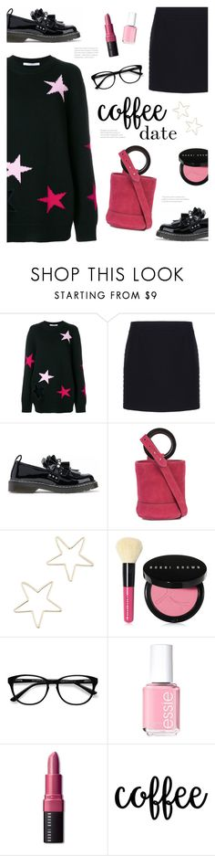 """Buzz-Worthy: Coffee Date"" by catchsomeraes on Polyvore featuring Givenchy, Balenciaga, Mother of Pearl, Simon Miller, Shashi, Bobbi Brown Cosmetics, EyeBuyDirect.com, Essie, loafers and suede"