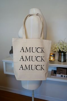 Hey, I found this really awesome Etsy listing at https://www.etsy.com/listing/228143002/amuck-amuck-amuck-disney-tote-bag-hocus