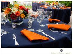 navy blue and burnt orange wedding - Google Search