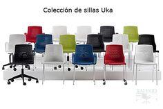 Silla de Oficina Ber uka Colectividades-Muebles Talego