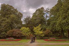 The bride wore a black wedding dress at Ashford Castle lawn ceremony Ashford Castle, Irish Wedding, Black Wedding Dresses, Wedding Ceremonies, Vows, Bride, Photography, Beautiful, Wedding Bride