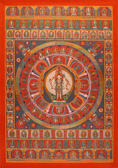 Chenrezig-Mandala