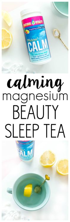 VEGAN & GLUTEN FREE 'Calming Magnesium Beauty Sleep Tea'. Naturally calming to ease anxiety and help you wind down at night.