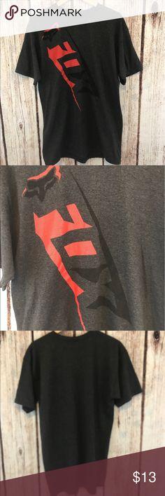 Fox Racing men's t shirt Slim fit men's fox Racing t shirt Fox Shirts Tees - Short Sleeve
