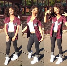 Swag nike thug curly hair jersey cute summer outfit spring jeans leg warmers tank top white New Hip Hop Beats Uploaded EVERY SINGLE DAY http://www.kidDyno.com