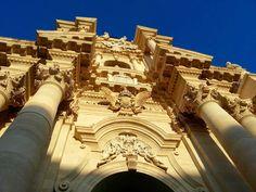 Fachada barroca del Duomo, Siracusa (Sicilia) @evaespinet