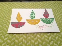 Diwali Homemade Greeting Cards Ideas_35