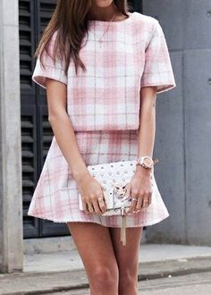 Pretty plaid