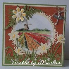 Creaties met Papicolor papier: lente kriebels