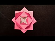 How to Make an Easy Origami Lotus Flower - HD