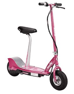 Razor Sweet Pea Electric Scooter - Comfort Ride, Electric Scooters, Sit or Stand, Top Performance Cheap Electric Scooters, Electric Scooter With Seat, Razor Electric Scooter, Electric Razor, Electric Cycle, Electric Cars, Drift Trike, Kids Scooter, Scooter Scooter
