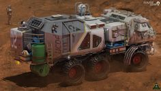 Rover concept from my person project - Brad Wright Concept & Illustration