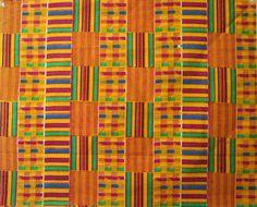 Kente Mud cloth Batik and African prints ready by braidandstitch