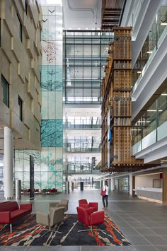pdt architects | gold coast university hospital | pdt + sth + hassell | masterplanning | architecture | interior design | landscape architecture | #healthcare #interior | photography: christopher frederick jones | http://www.pdt.com.au/projects/gold-coast-university-hospital/