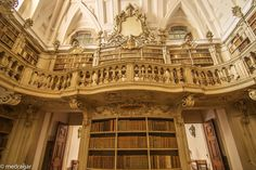 Biblioteca Mafra Portugal by José Medrano Martín on 500px