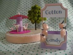 Make a Miniature Cotton Candy Stand