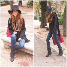Clara Alonso; great boho look