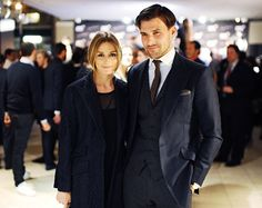 Such a well dressed couple!