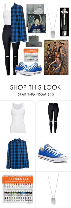 """Moving and meeting the gang"" by xgrunge-princessx ❤ liked on Polyvore featuring American Vintage, Converse and BillyTheTree"