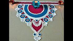 Very Simple and Easy Rangoli Designs for Deepawali