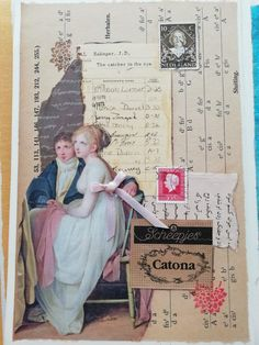 The First 10 weekly collage assignments - Margarete Miller Collage Book, Collage Art Mixed Media, Collage Ideas, Altered Books, Altered Art, Art Journal Inspiration, Journal Ideas, Art Assignments, Glue Book