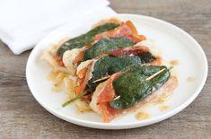 Niente carne ma delicati filetti di pesce per i saltimbocca di cernia, un secondo piatto gustoso e facilissimo da realizzare. Linguine, Lactose Free, Green Beans, Vegetables, Recipes, Calamari, Food, Gourmet, Dinner
