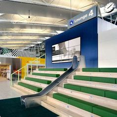 In-Airport Playgrounds - The Schiphol Departure Lounge 4 Lets Kids Play During Layover (GALLERY)