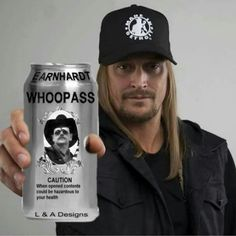 I know it's not a race car but, it is KID ROCK, & most of America's, opinion of DALE EARNHARDT. Because it's one thing to look like, act like, & have people say your a BAD A$$, but when you can back it up you get a whole different kind of respect!!!!