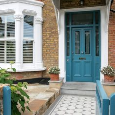 Look inside this terraced house in Southwest London
