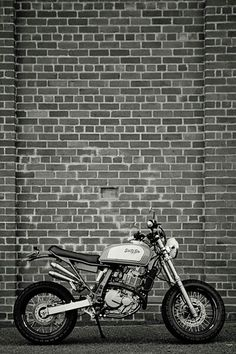 DR 650 by 66 Motorcycles