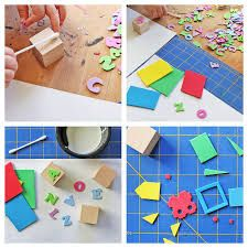 how to make a stamp - Cerca amb Google
