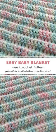 If you are in urgent need of a handmade blankie for a special little someone, these patterns for Easy-Peasy Baby Blankets will save the day. Crochet Baby Blanket Free Pattern, Easy Crochet Blanket, Crochet Blanket Patterns, Easy Crochet Baby Blankets, Baby Afghan Patterns, Handmade Baby Blankets, Baby Afghans, Crochet Stitches, Crochet Simple