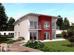 Haus bauen modern pultdach  VARIO-HAUS Sky View #gibtdemLebeneinZuhause, Einfamilienhaus ...