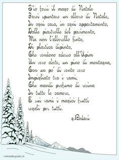 Filastrocca di Rodari per Natale..